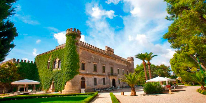 Un castillo en Apulia