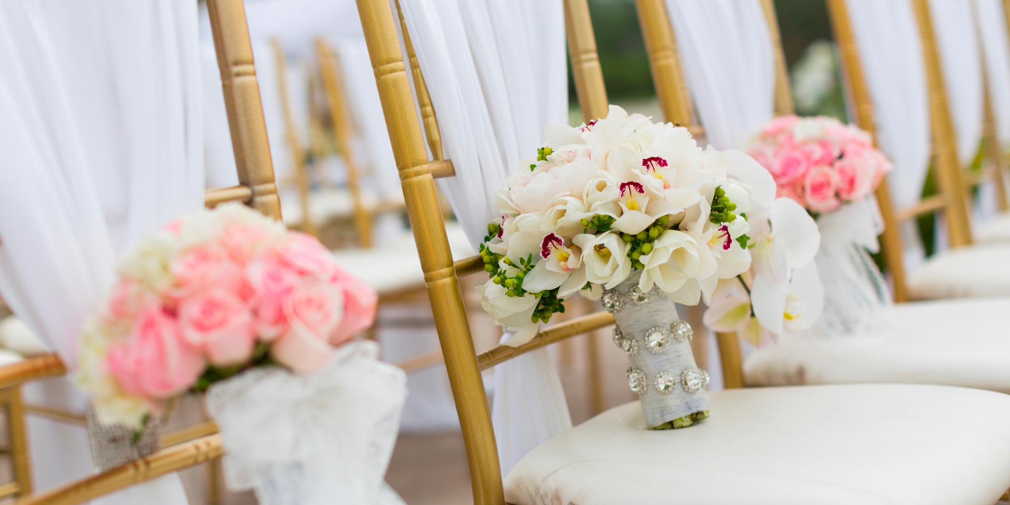 bouquets de mariée et de demoiselles d'honneur