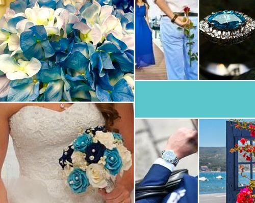 palette des bleu