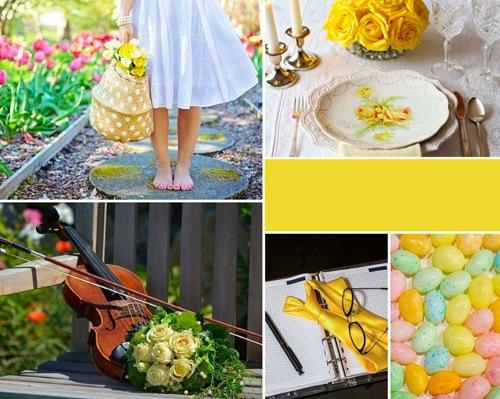 palette des jaunes