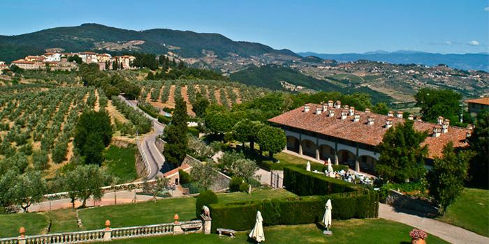 Toscana, una villa de los Médicis