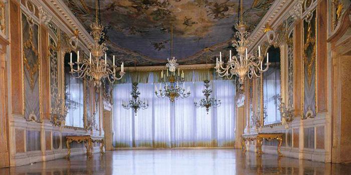 Ballo veneziano in una sala prestigiosa